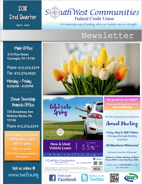 Click here to download Print Newsletter